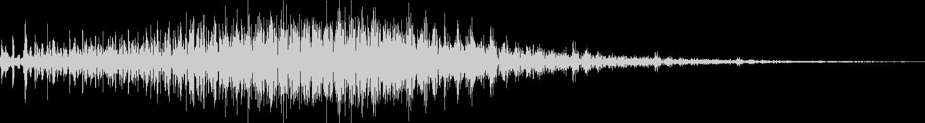 アナログFX 16の未再生の波形