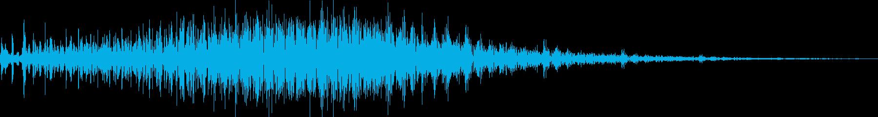 アナログFX 16の再生済みの波形