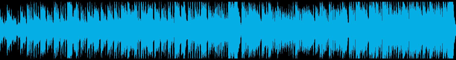 メルヘンチックでかわいい曲の再生済みの波形