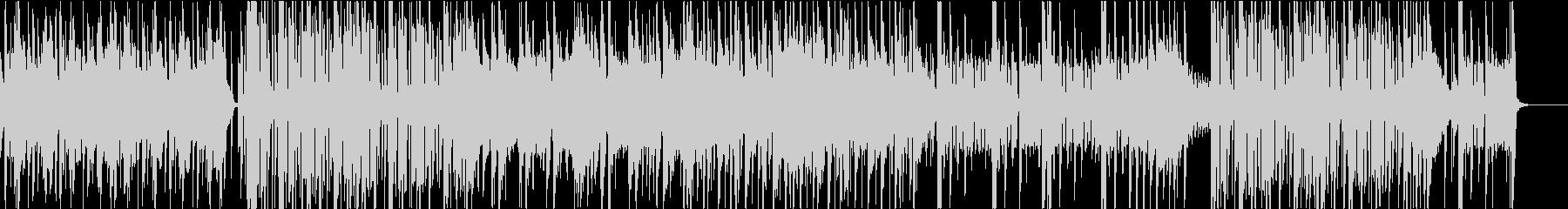 オシャレなエレクトロニックなファンクの未再生の波形