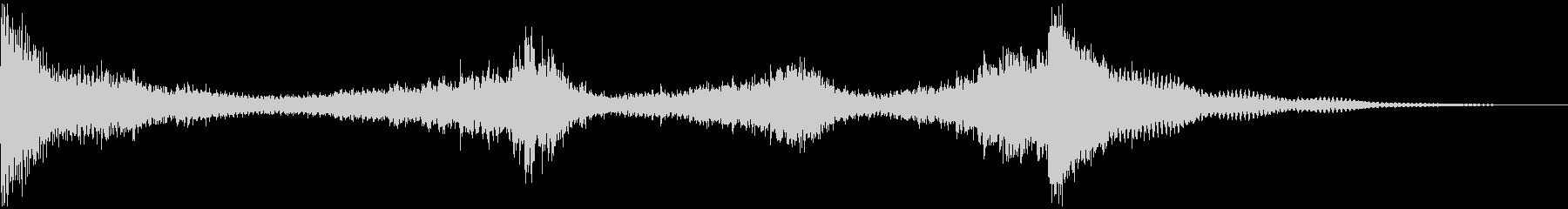 ドラムロールA(シンバルまで8秒)の未再生の波形