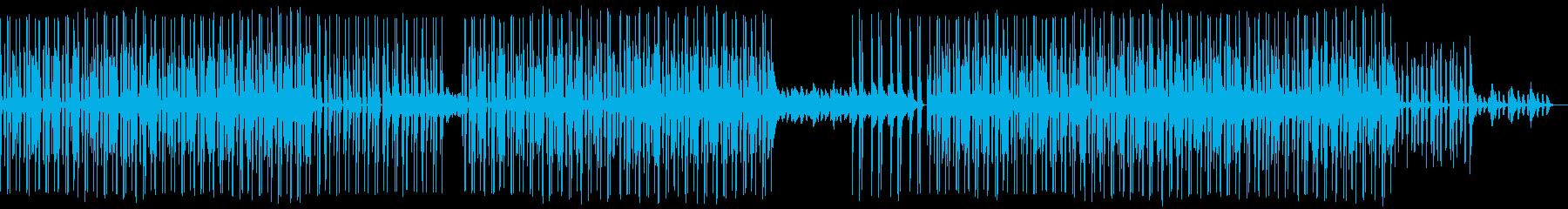 シュールでダンサブルなハウスミュージックの再生済みの波形
