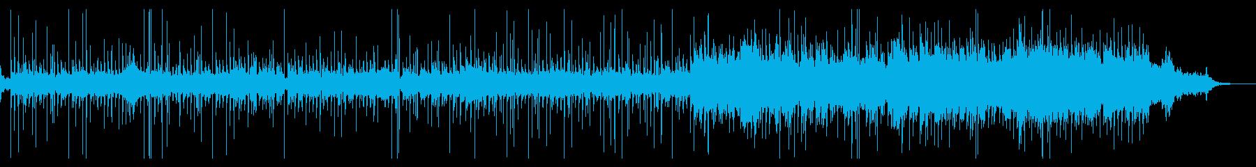 ミステリアス ホラー系のテクスチャーの再生済みの波形