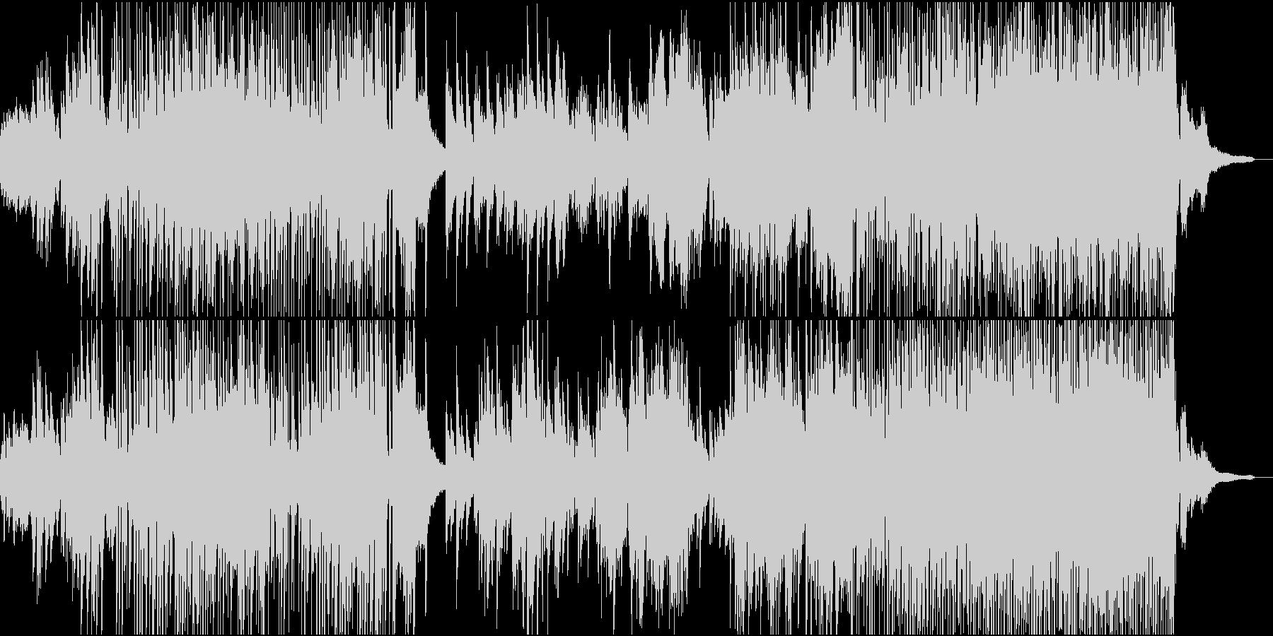 爽やかな和風エレクトロの未再生の波形