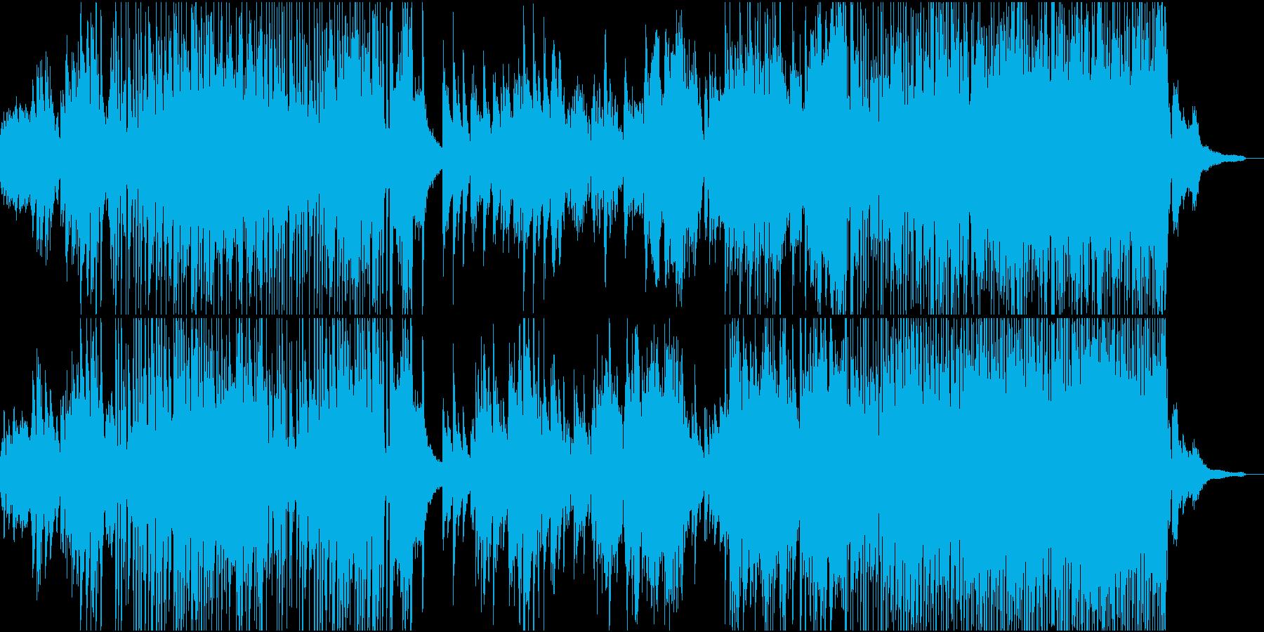 爽やかな和風エレクトロの再生済みの波形