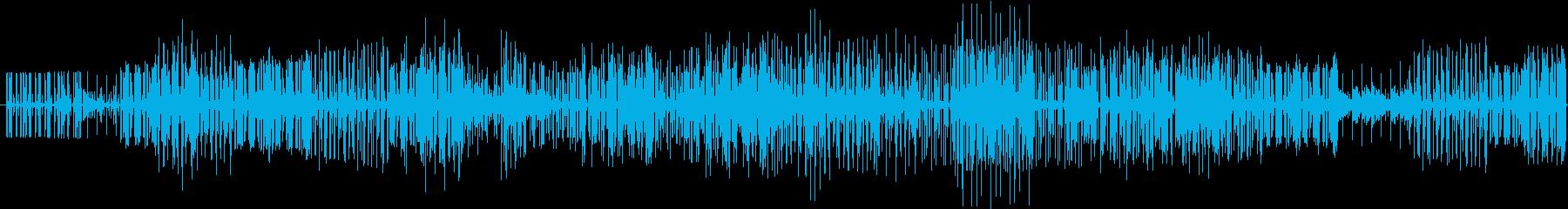 待っている時間を意識したエレクトロ曲ですの再生済みの波形