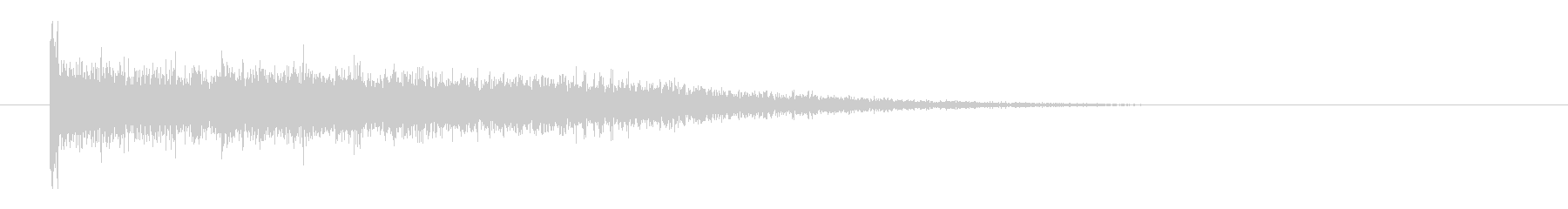 レーザー音-58-3の未再生の波形