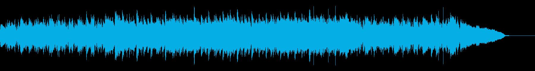 パワフルで情熱的なCM企業VP用ブルースの再生済みの波形