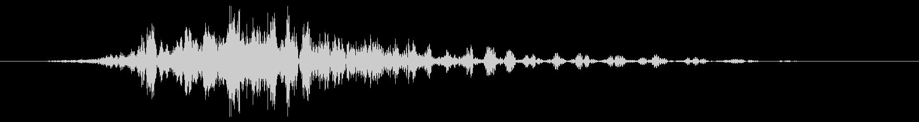 スモールメタリックスペースオブジェ...の未再生の波形