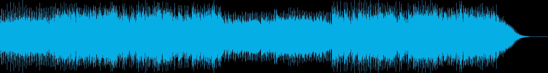 星空イメージの明るいシンセポップの再生済みの波形