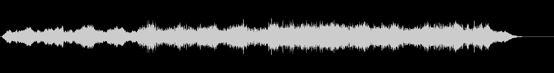 環境音楽(リラクゼーション系)の未再生の波形