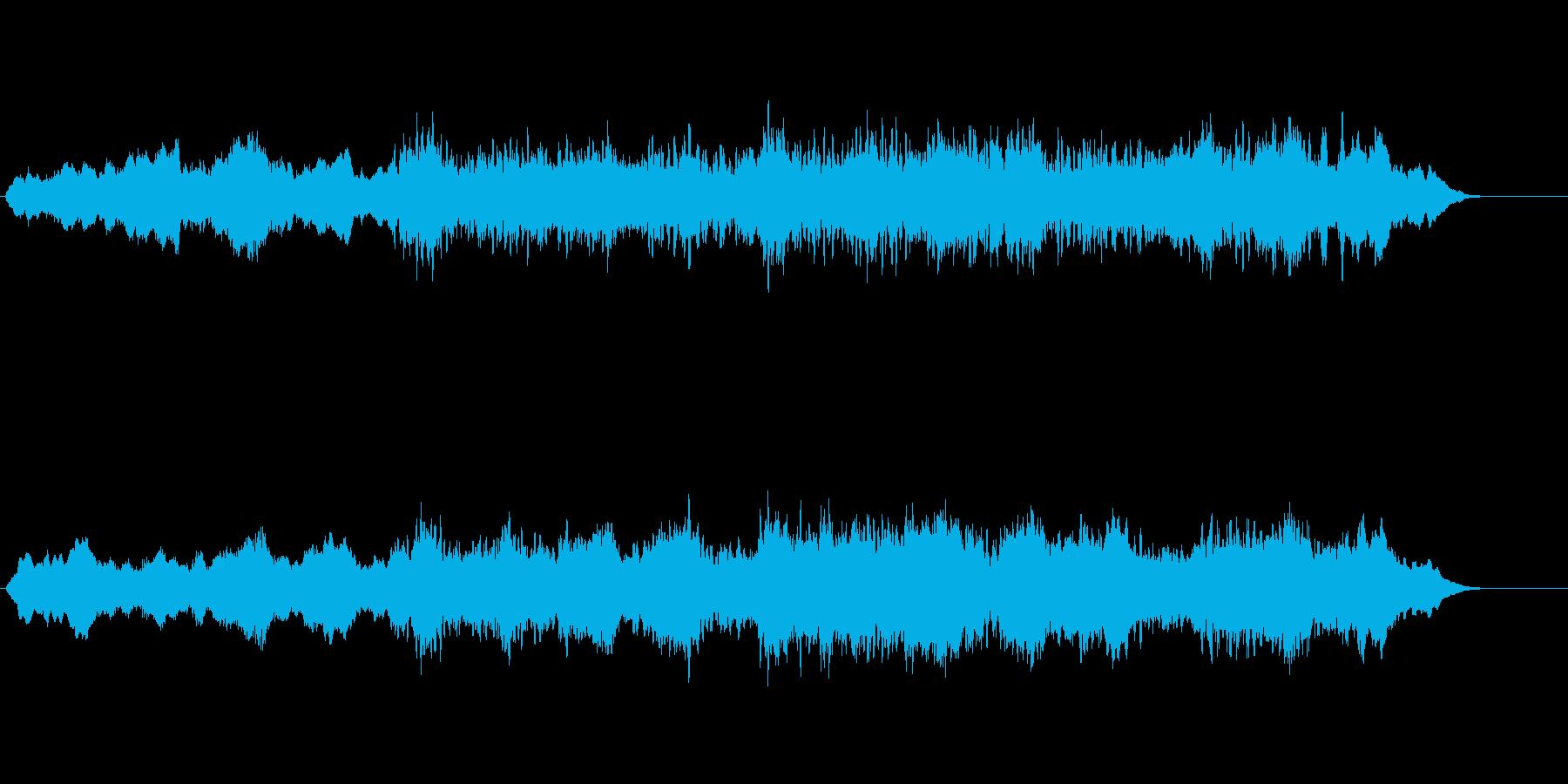 環境音楽(リラクゼーション系)の再生済みの波形