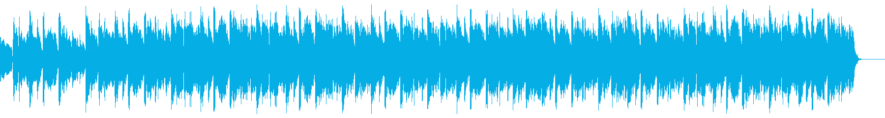 BGMに合いそうな優しい音楽の再生済みの波形