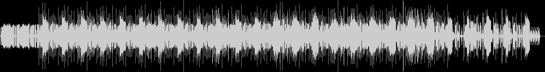 クールなミドルテンポのミニマルテクノの未再生の波形