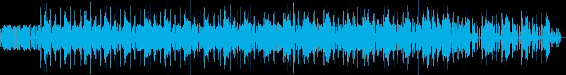 クールなミドルテンポのミニマルテクノの再生済みの波形