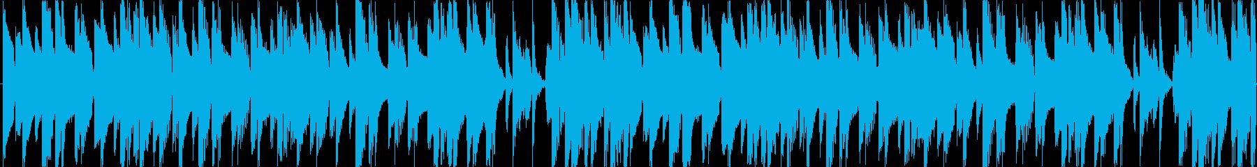 和風ゲームやおもしろ系のゲームのメニュ…の再生済みの波形