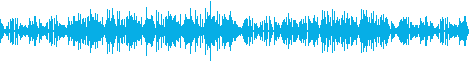 ループ可★都会の夜のセンチメンタルBGMの再生済みの波形