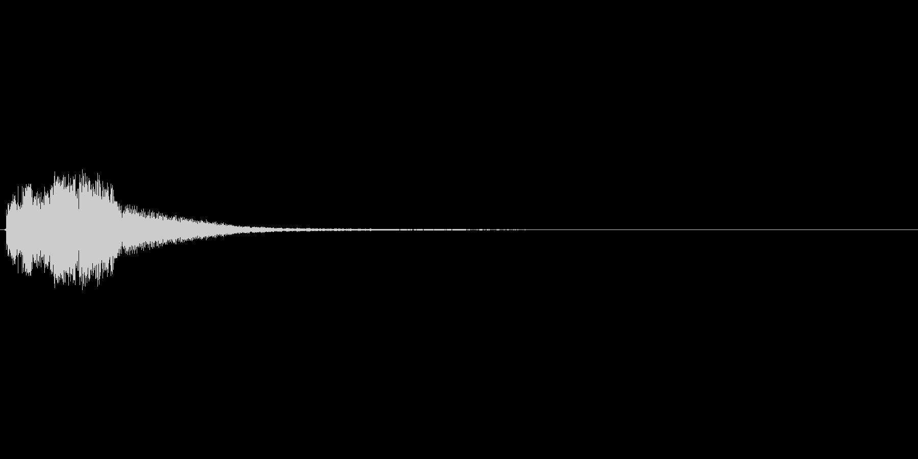ピロロロンという上がっていくアイテム使…の未再生の波形