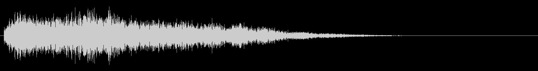 サスペンスピアノ音_18-1の未再生の波形