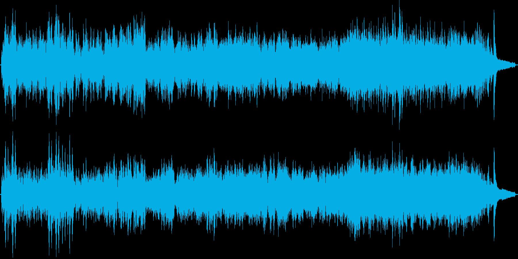 グノーのアベマリアの原曲をピアノ演奏での再生済みの波形