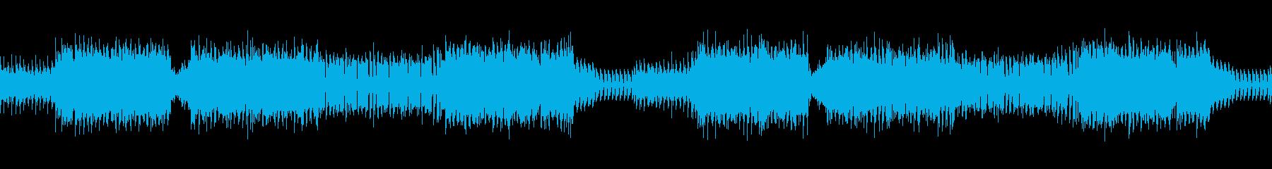 【ループ可】軽快なトランスの再生済みの波形