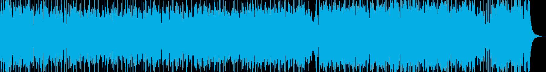 元気が出るアイドルロックポップのんの再生済みの波形