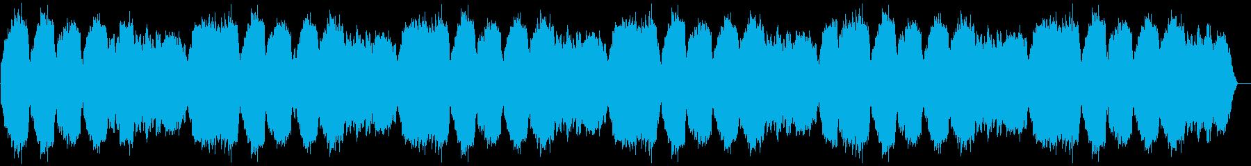 綺麗に響くシリアスなメロディーの再生済みの波形