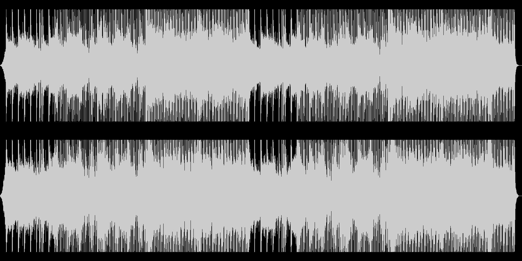 爽やかで前向きなピアノ&ギターBGMの未再生の波形