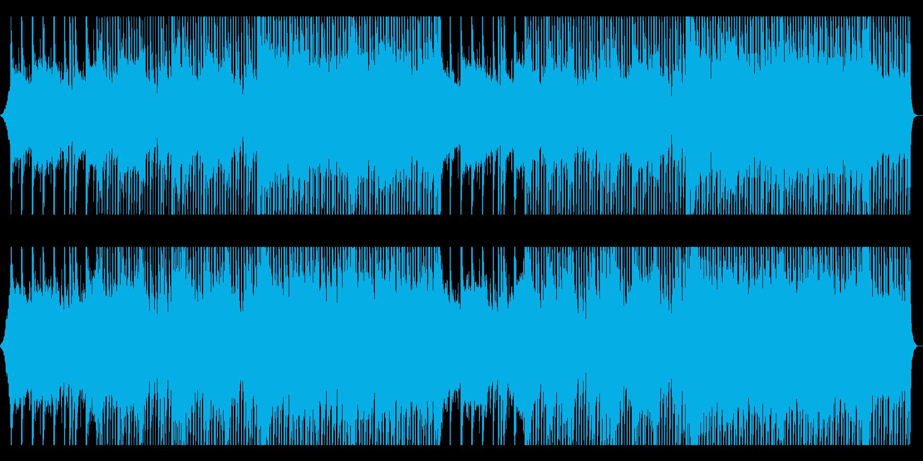 爽やかで前向きなピアノ&ギターBGMの再生済みの波形