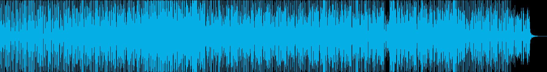 科学・宇宙・医療・テクノロジー向けBGMの再生済みの波形