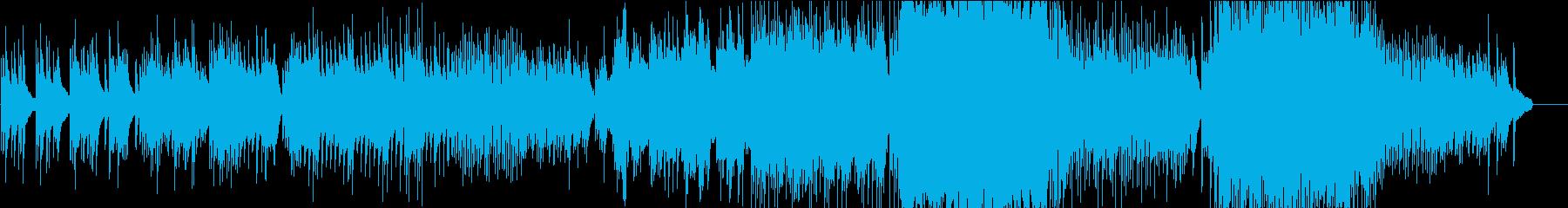 ピアノメインの卒業曲(巣立つイメージ)の再生済みの波形