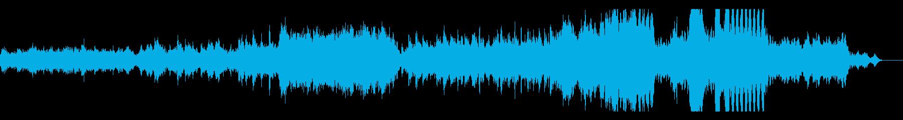 有名なクラシックのバレエ曲 白鳥の湖の再生済みの波形