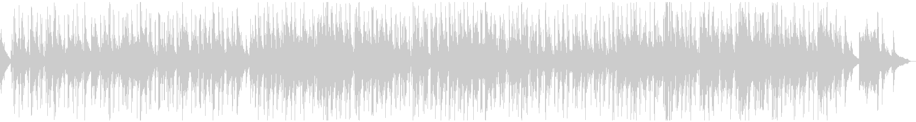 夜の渋くユルいおしゃれなピアノボサノバの未再生の波形