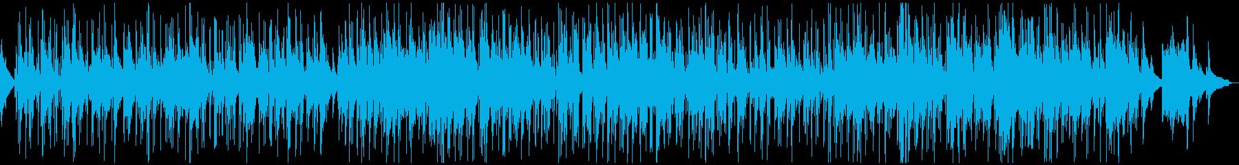 夜の渋くユルいおしゃれなピアノボサノバの再生済みの波形