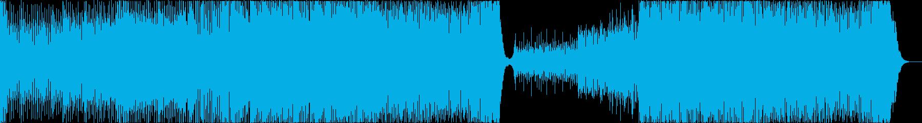 EDM ラテン 太陽 日焼け 疾走感の再生済みの波形