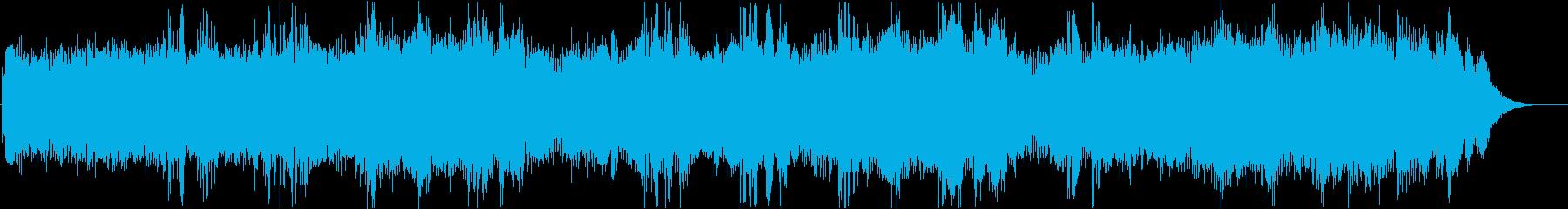 BLANK PAGEの再生済みの波形