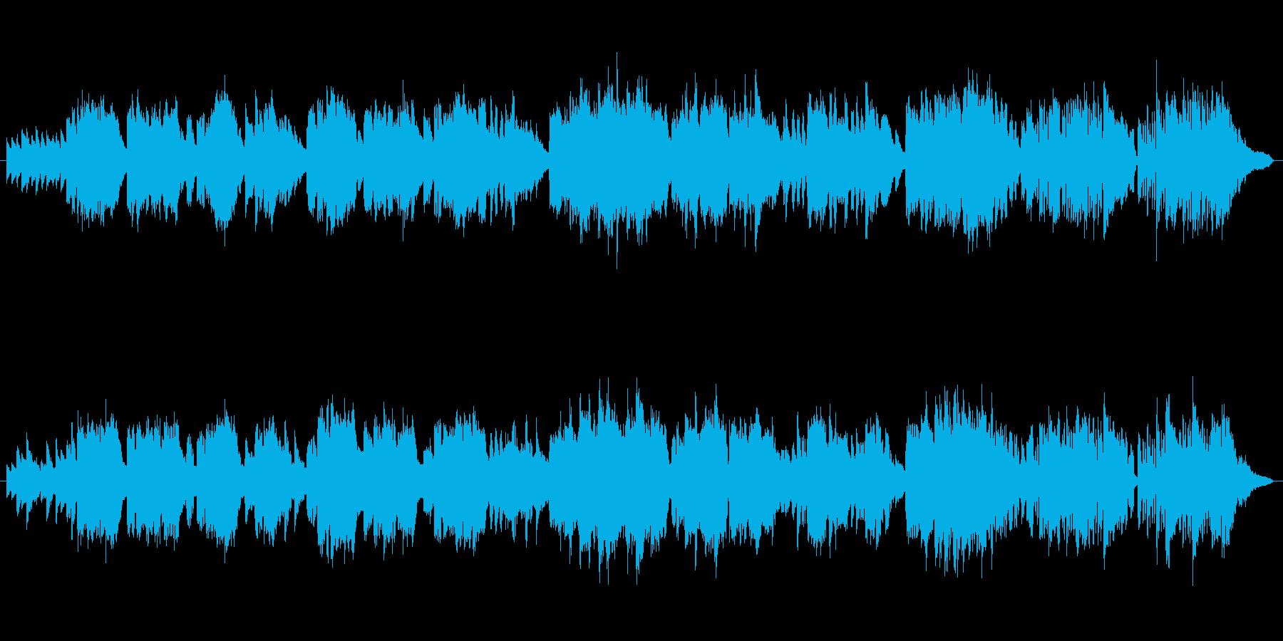 アルルの女「メヌエット」フルート生演奏の再生済みの波形