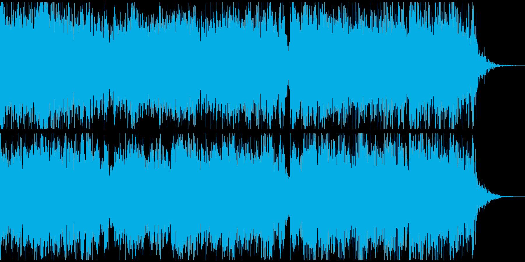 ロックなファンタジー戦闘ジングルの再生済みの波形