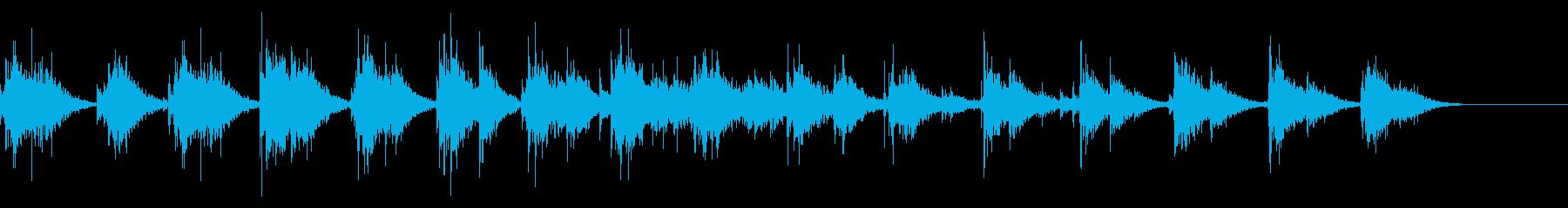 拍手と手拍子(小規模/屋内/舞台)19の再生済みの波形
