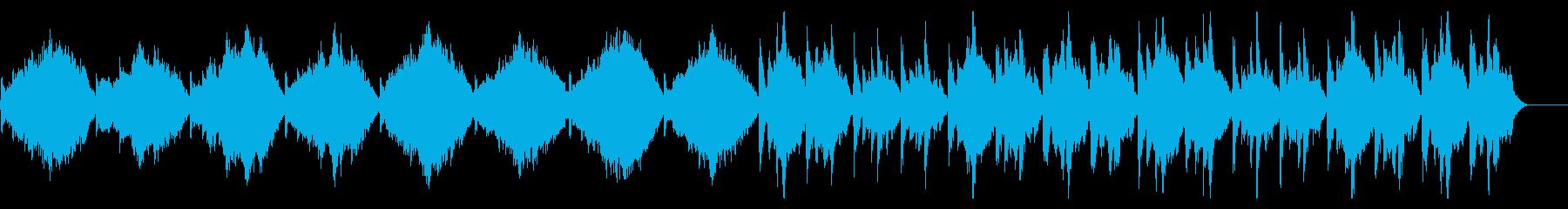 冷たく不穏なオーケストラ〜サスペンス映画の再生済みの波形