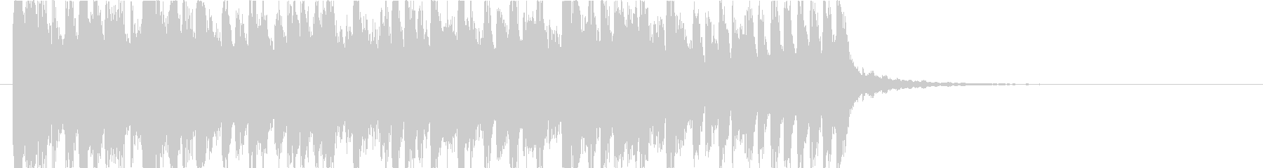 シンセによるクールなR&B、エレクトロの未再生の波形