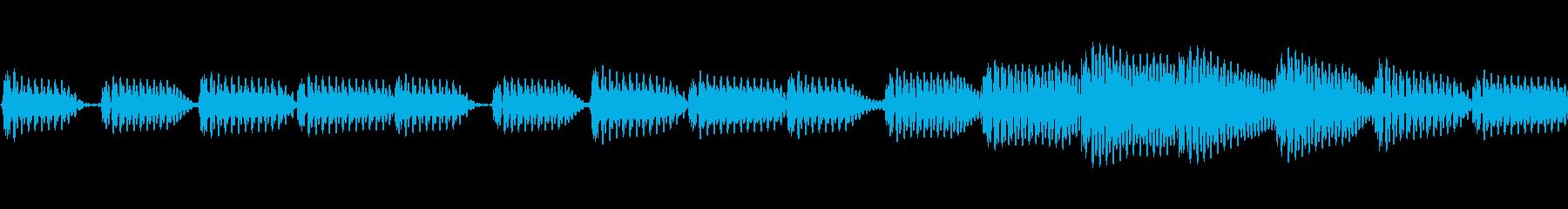 イライラ/緊張感/緊迫スリル/ループ仕様の再生済みの波形