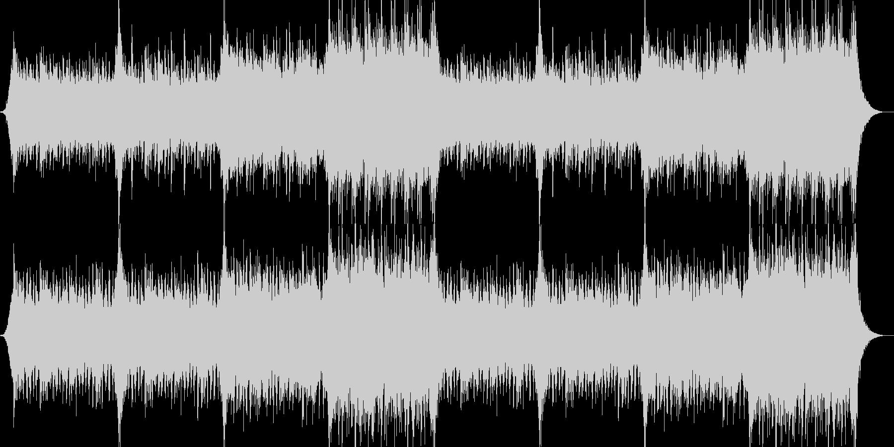 企業VPや映像39、壮大、オーケストラaの未再生の波形