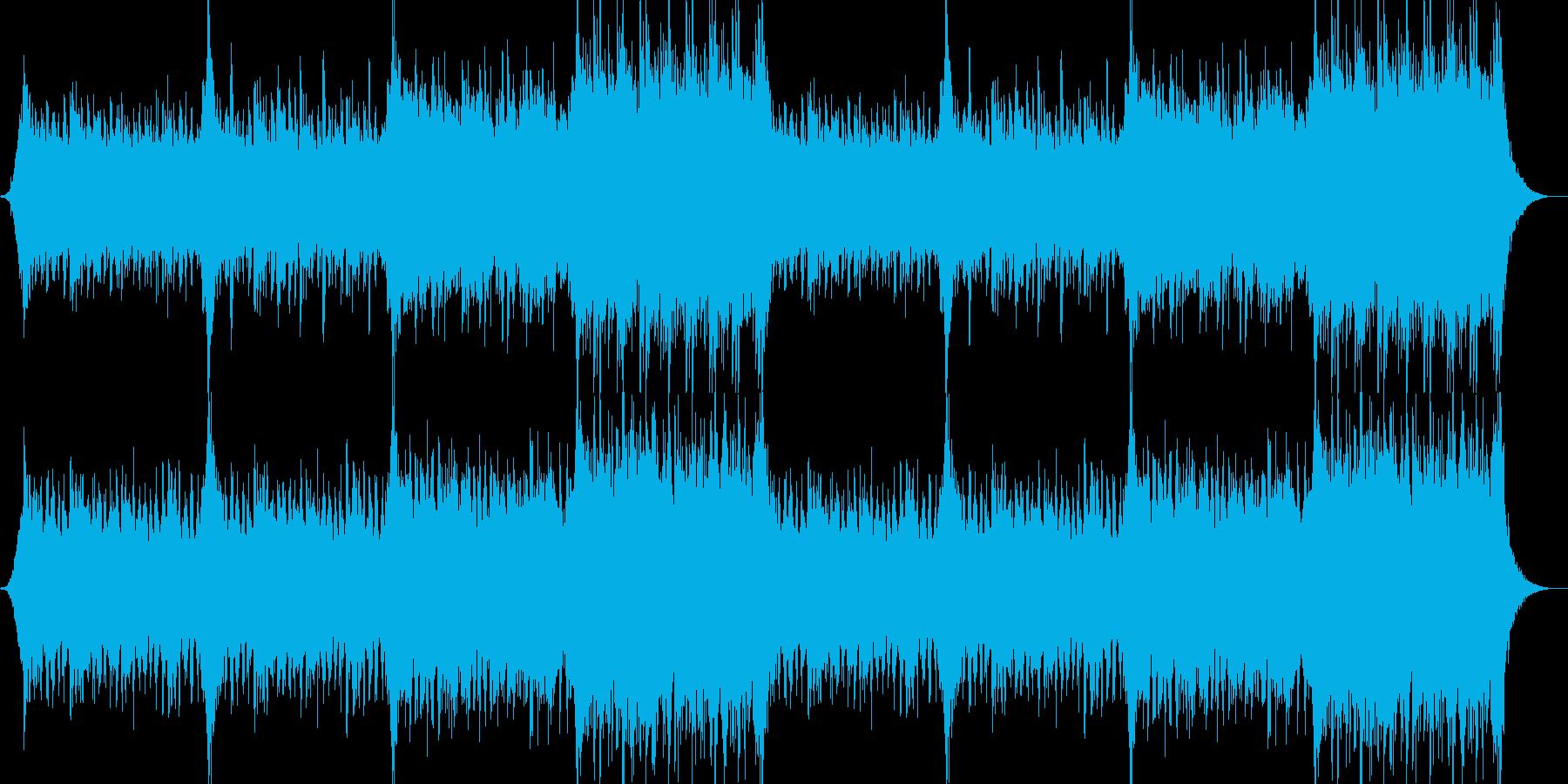 企業VPや映像39、壮大、オーケストラaの再生済みの波形