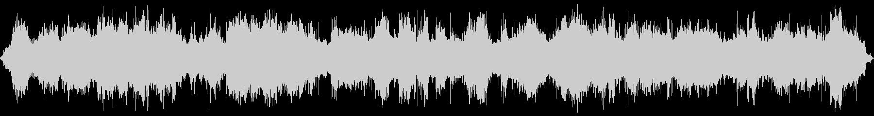 トランシーバーのノイズの未再生の波形