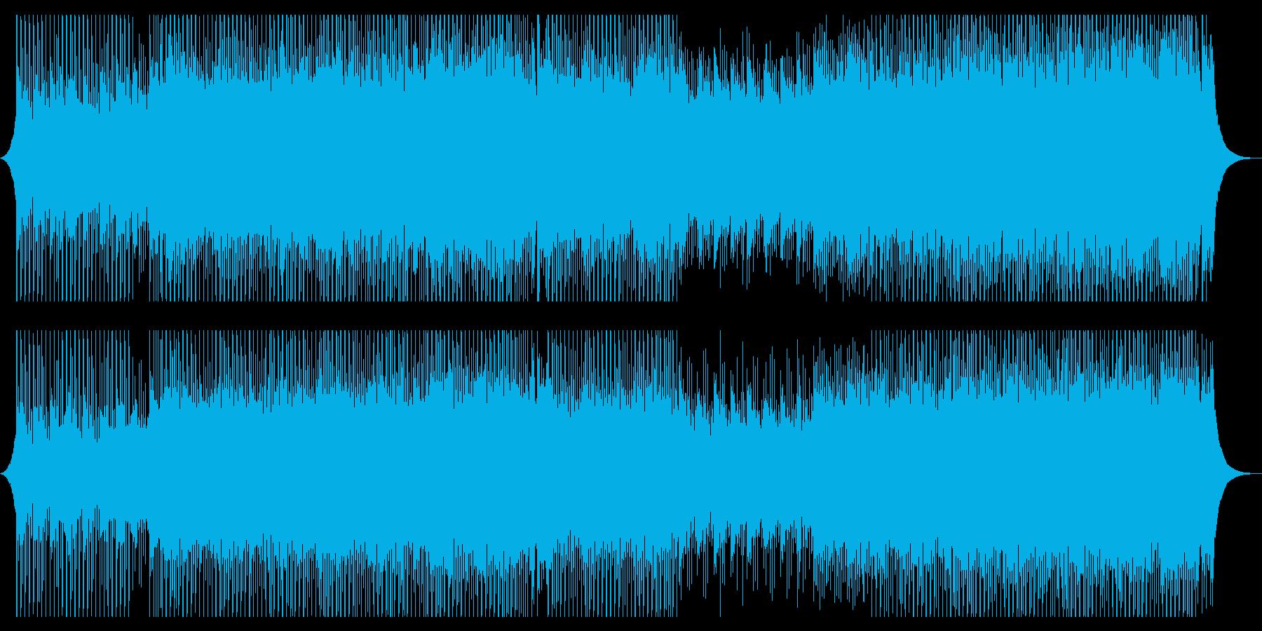 動機の再生済みの波形