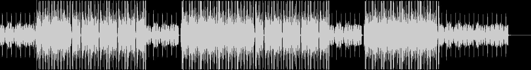 ローファイ、トラップ、R&Bチルアウト♪の未再生の波形