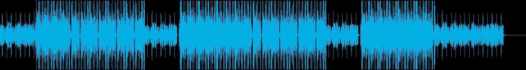 ローファイ、トラップ、R&Bチルアウト♪の再生済みの波形