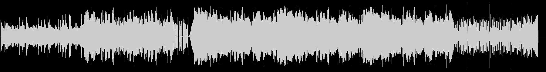 エレクトリック、電気的なBGMの未再生の波形