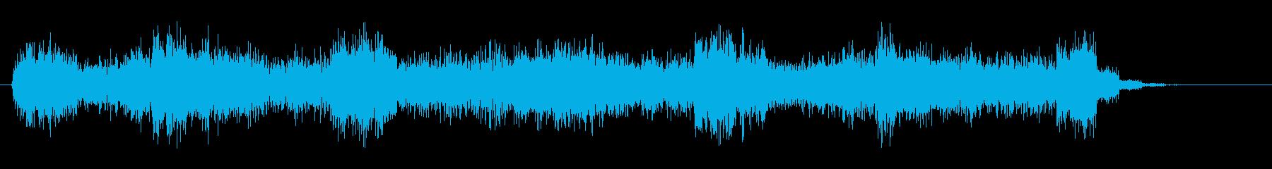 2 不吉、禍禍しい、忌まわしい、系の音の再生済みの波形